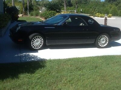 2005 Ford Thunderbird Anniversary Model 2005 Ford Thunderbird Black