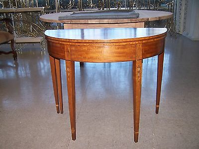 Antique American Federal Mahogany Game Table Circa 1780