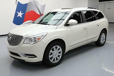 2014 Buick Enclave Leather Sport Utility 4-Door 2014 BUICK ENCLAVE LEATHER 7-PASS NAV DVD REAR CAM 32K #349545 Texas Direct Auto