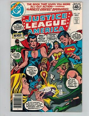 Justice League of America 161 Zatanna Joins The JLA!   1978 VF