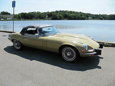 1974 Jaguar E-Type V12 1974 V12 JAGUAR XKE ROADSTER