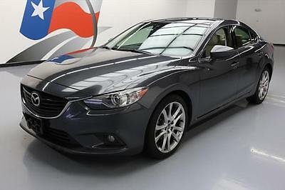 2014 Mazda Mazda6  2014 MAZDA MAZDA6 I GRAND TOUR SUNROOF NAV LEATHER 36K #147812 Texas Direct Auto