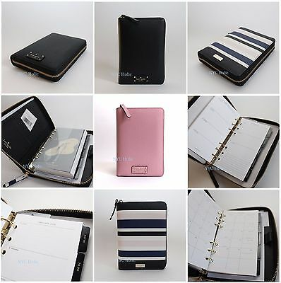 2018 New Kate Spade New York Zip Around Personal Organizer Wellesley Agenda NWT