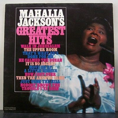 (o) Mahalia Jackson - Greatest Hits