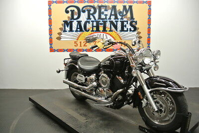 V Star 1100 Classic XVS1100A -- Dream Machines Indian 2006 Yamaha V Star 1100 Classic XVS1100A  24624 Miles Blac