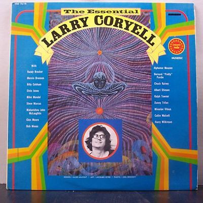 (o) Larry Coryell - The Essential (2-LP, France)