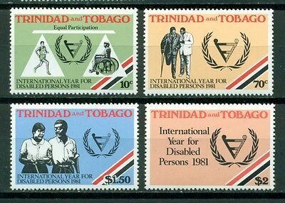 Trinidad & Tobago Scott #341-344 MNH Int'l Year of the Disabled $$