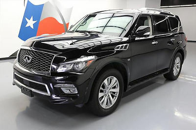 2016 Infiniti QX80 Base Sport Utility 4-Door 2016 INFINITI QX80 SUNROOF NAV 360-CAM HEATED SEATS 35K #612511 Texas Direct