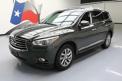 2013 Infiniti JX Base Sport Utility 4-Door 2013 INFINITI JX35 PREM SUNROOF NAV HTD LEATHER 33K MI #321721 Texas Direct Auto