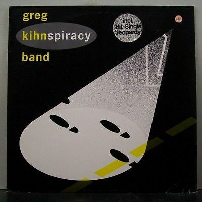 (o) Greg Kihn Band - Kihnspiracy