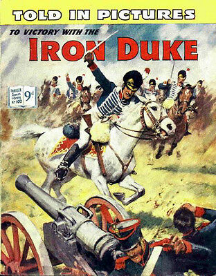THRILLER PICTURE LIBRARY No.102 THE IRON DUKE  - Facsimile 68 page Comic