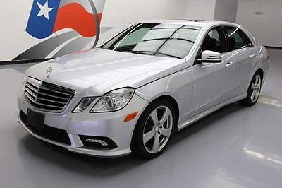 2011 Mercedes-Benz E-Class  2011 MERCEDES-BENZ E350 SPORT P1 SUNROOF NAVIGATION 81K #454437 Texas Direct