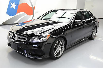 2015 Mercedes-Benz E-Class 4Matic Sedan 4-Door 2015 MERCEDES-BENZ E350 4MATIC AWD SPORT SUNROOF NAV!! #148519 Texas Direct Auto