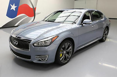 2016 Infiniti Q70 3.7 Sedan 4-Door 2016 INFINITI Q70L PREMIUM SUNROOF NAV 360 CAM 20'S 24K #630454 Texas Direct