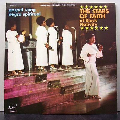 (o) The Stars Of Faith Of Black Nativity - Gospel Song - Negro Spiritual (2-LP)