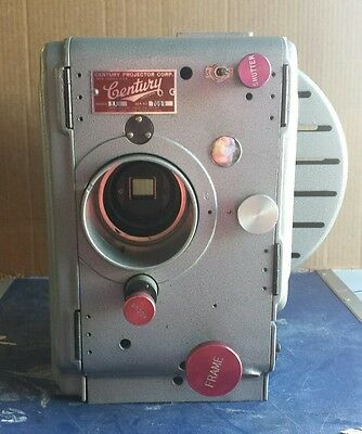 Century Movie Projector 35 mm Model SA Vintage Untested for Parts