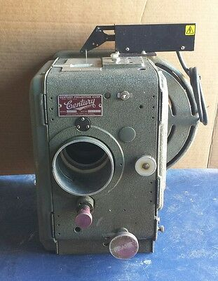 Century Movie Projector Vintage 35mm Model MSA Untested Vintage for Parts