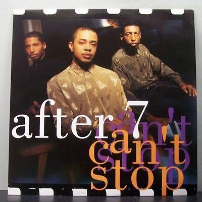 (o) After 7 - Can't Stop (Maxi)