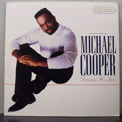 (o) Michael Cooper - Dinner For Two (Promo Maxi, USA)