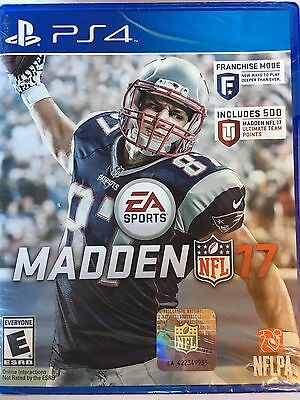 Madden NFL 17 (PS4) DISC & ARTWORK ONLY NO CASE UNUSED CONDITION SHIPS FAST
