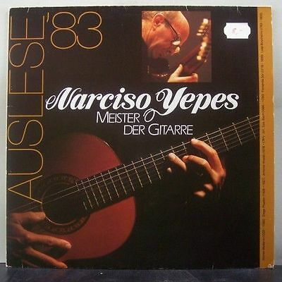 (o) Narciso Yepes - Meister Der Gitarre