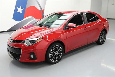 2016 Toyota Corolla  2016 TOYOTA COROLLA S PLUS CVT REARCAM PADDLE SHIFT 32K #511968 Texas Direct