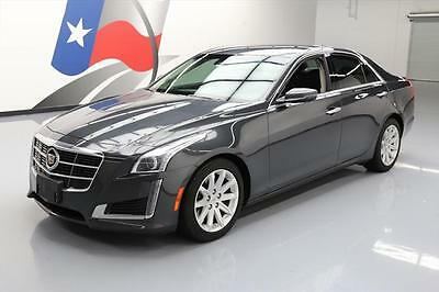 2014 Cadillac CTS Luxury Sedan 4-Door 2014 CADILLAC CTS 2.0T LUX PANO ROOF NAV REAR CAM 39K #176441 Texas Direct Auto