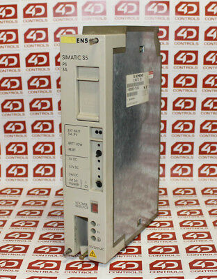 Siemens 6ES5 951-7LB14 SIMATIC S5-115U/H PS 951 Power Supply Module - Used