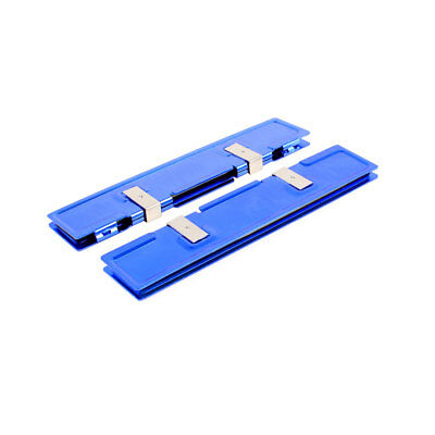 2pcs DDR DDR2 DDR3 RAM Memory Aluminum Cooler Heat Spreader Heatsink Blue