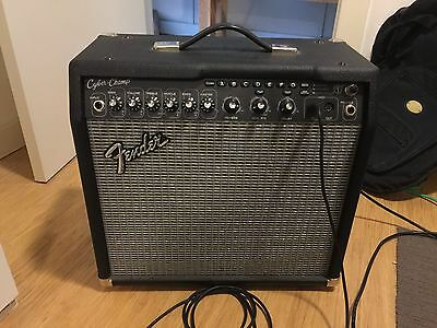 Fender Cyber Champ AMP with Foot Controller
