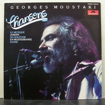 (o) Georges Moustaki - Chansons