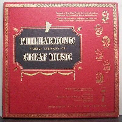 (o) V.A. Philharmonic Family Library Of Great Music 7