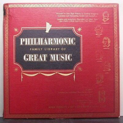 (o) V.A. Philharmonic Family Library Of Great Music 13