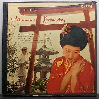 (o) Angelo Questa - Puccini - Madame Butterfly (3-LP Box)
