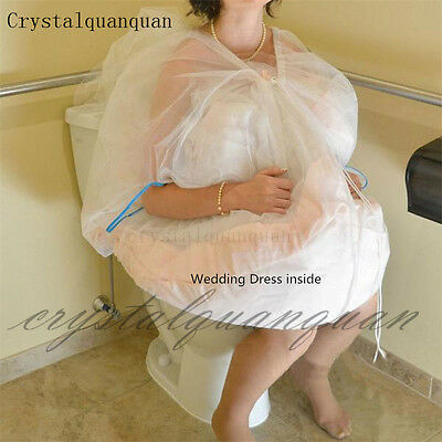 New Bridal Petticoat Underskirt Slips Save You From Toilet Water One Layers