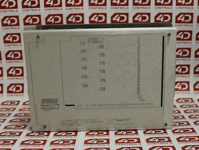 Bently Nevada 81228-01 6 Channel Temperature Monitor - Used