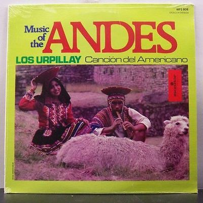 (o) Los Urpillay - Music Of The Andes (still sealed/neu ovp, USA)