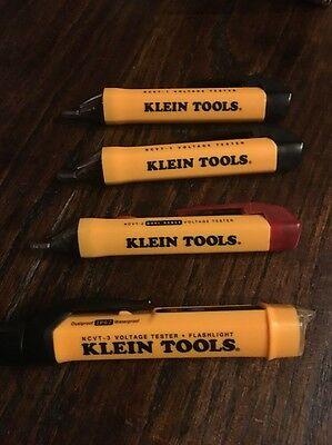 Klein Tools NCVT-1 NCVT-2 NCVT-3 Non Contact Voltage Tester Lot