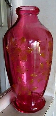 Ruby Glass Vase