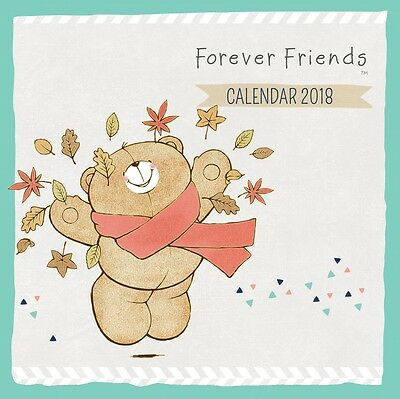 Forever Friends 2018 Square Wall Calendar by Browntrout NEW, Postage Free