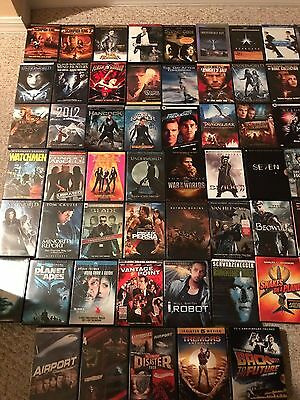 HUGE!!! LOT 110+ movies DVDs, Blu-Ray Adventure, Crime, Thriller, Action drama