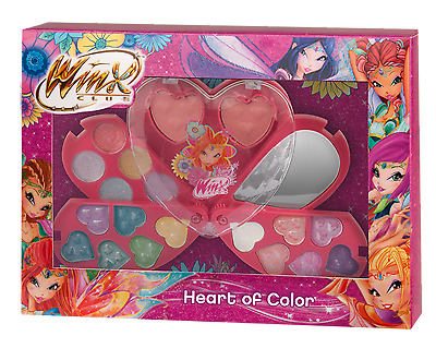 WINX Club Schminkset Heart of Color Beautyset Geschenkset