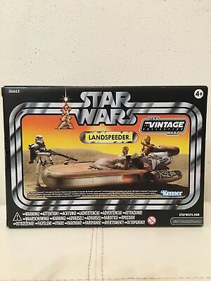 Star Wars Mint Condition Vintage Collection Exclusive Luke's Land Speeder