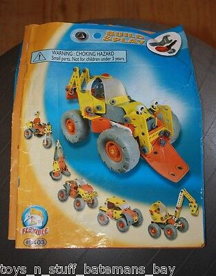 Meccano Flexible Set 9103 Booklet 99% Fun But Not Complete Set