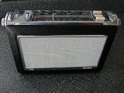 WORKING Vintage  Bush Retro TR130 Transistor Radio stunning   Item