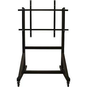 """NEW! Newstar Mobile Tv Floor Stand for 50-100"""" Screen Height Adjustable Black Up"""