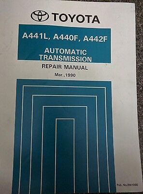 Toyota Land Cruiser Automatic Transmission Repair Manual March 1990