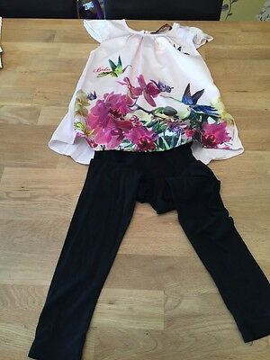 Ted Baker Top and Leggings Set - Age 7 Years