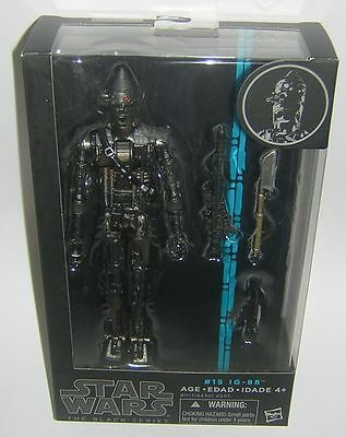"Star Wars Black Series 6"" Inch #15 IG-88!"