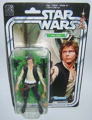 "Star Wars Black Series 6"" Inch 40th Anniversary Han Solo Rare"